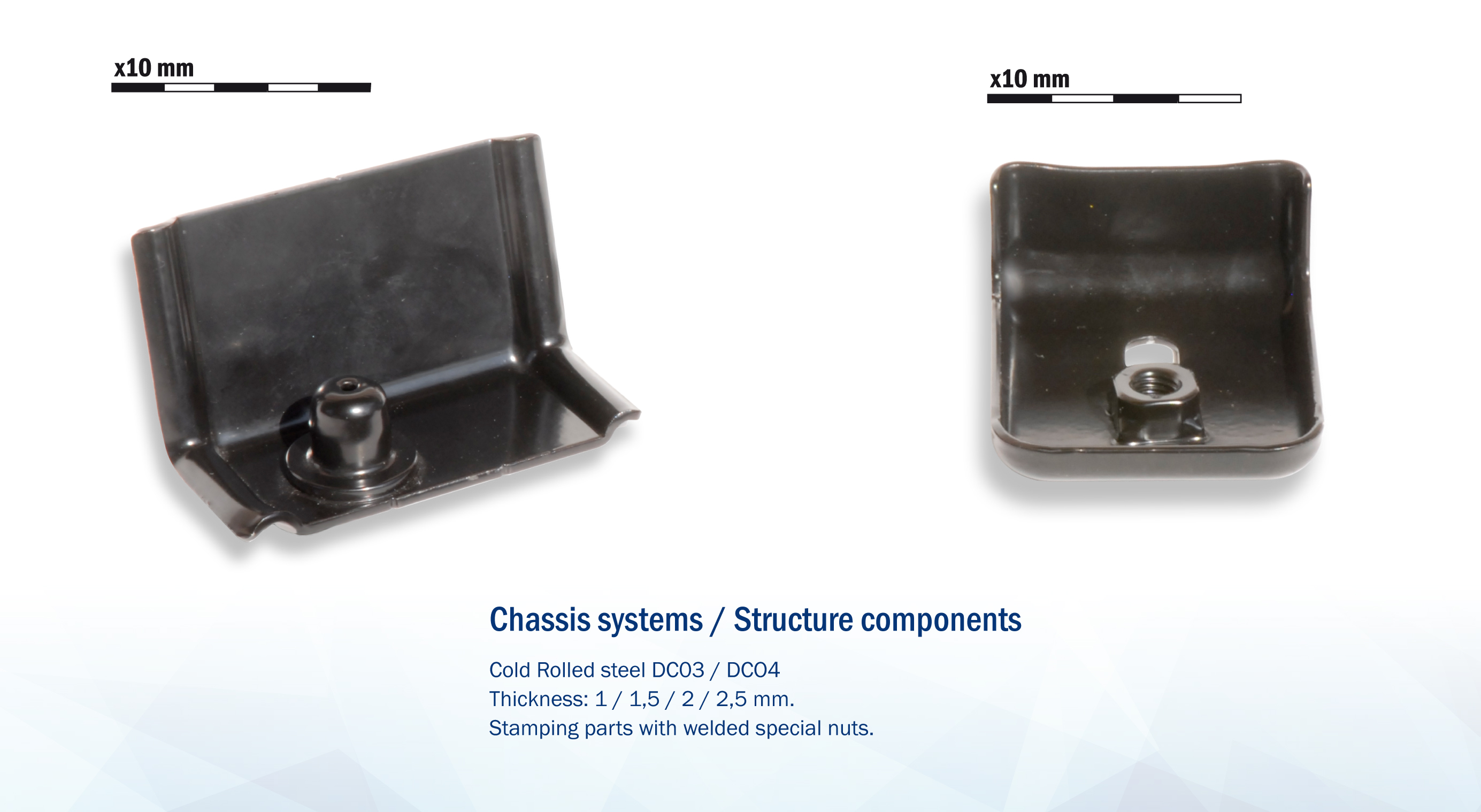 Chassis systems / Structure components
