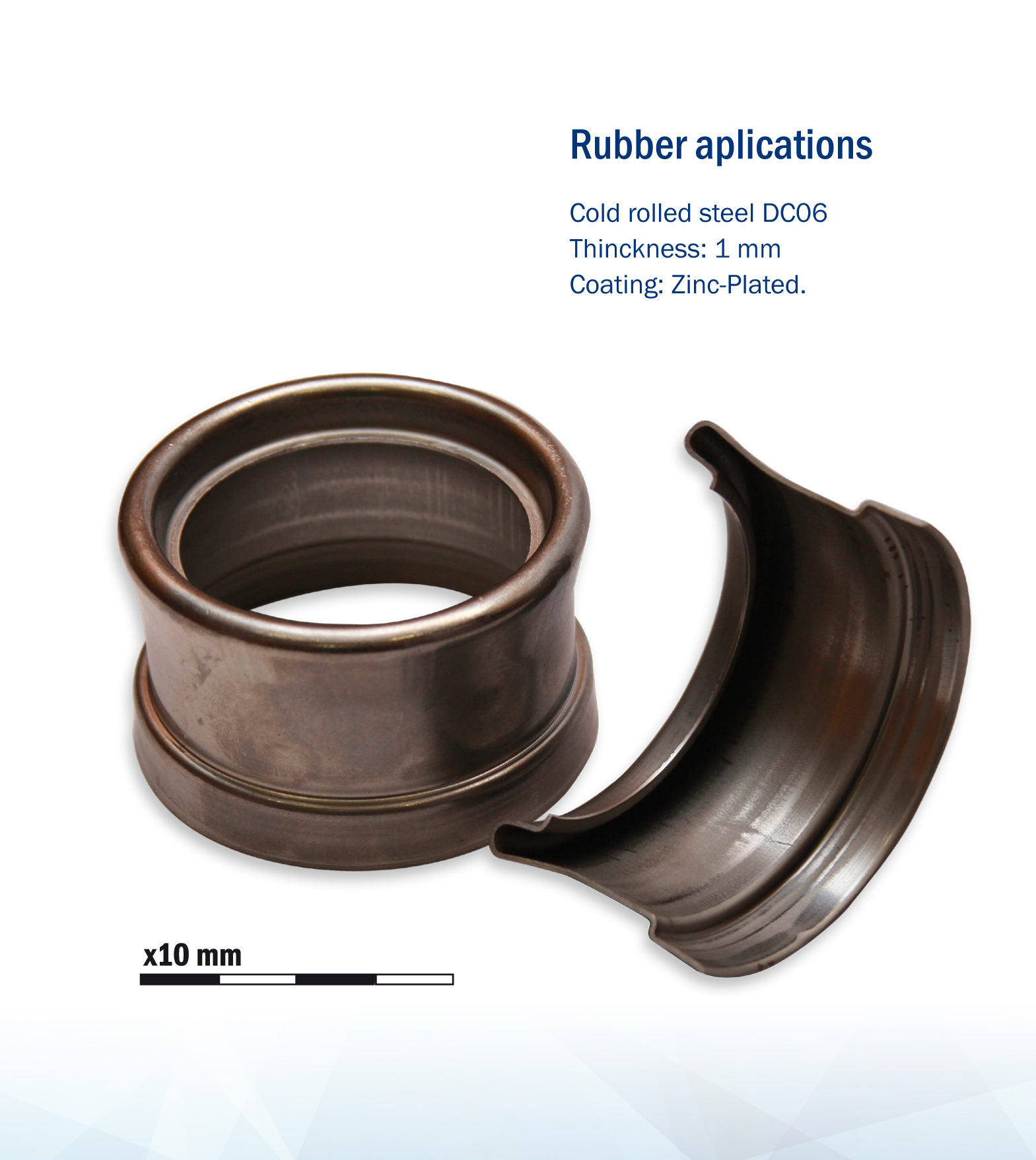 Rubber aplications