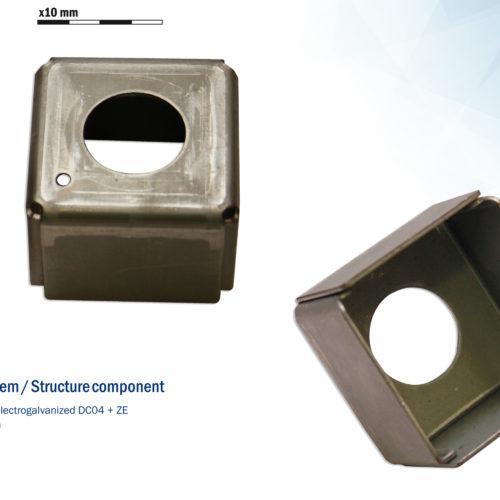 Chasis y componentes estructurales